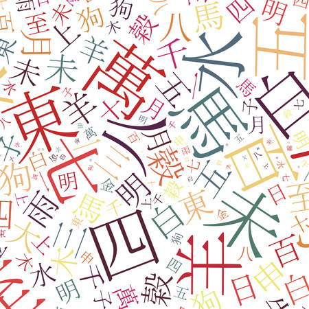 chinese alphabet texture background - high resolution photo