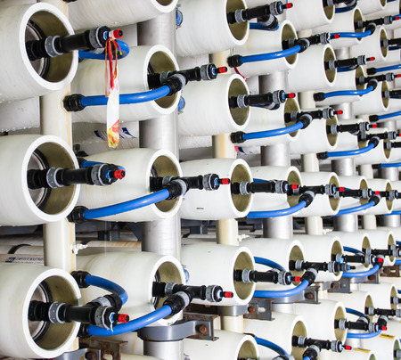 reverse: reverse osmosis plant for desalination water in Israel