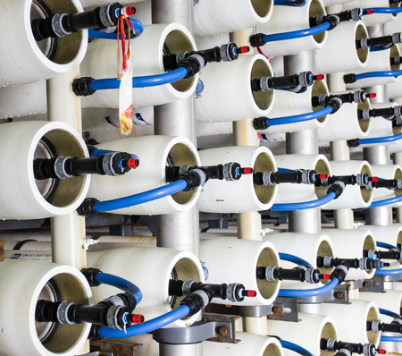 reverse osmosis plant for desalination water in Israel photo