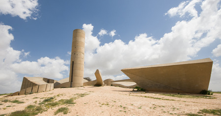 Monument to the Negev Brigade - Beer Sheva - Israel