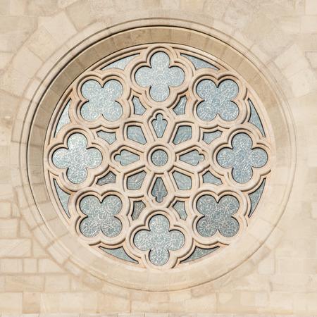 halaszbastya: Finestra Matthias Chiesa di San a Budapest, Ungheria