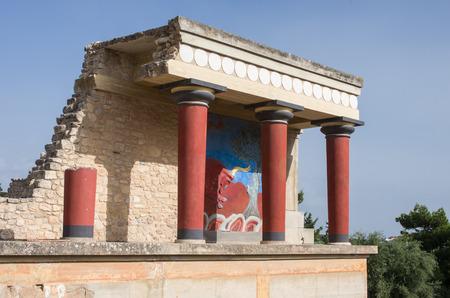 minoan: the Minoan palace of Knossos, Crete, Greece