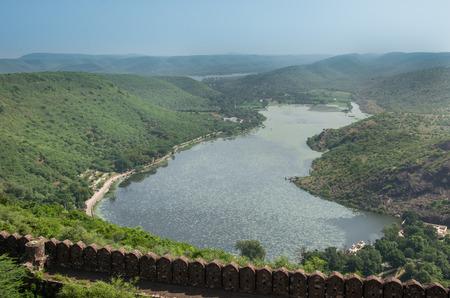 sagar: Jait Sagar Lake at Bundi, Rajasthan, India