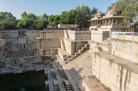 step well: Dhabhai Ka Kund water tank - Bundi, Rajasthan