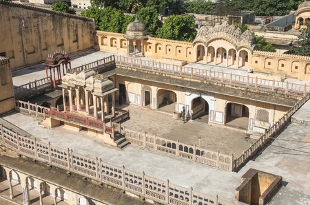 jagmandir: Hawa Mahal complex - Jaipur, Rajasthan - India Editorial