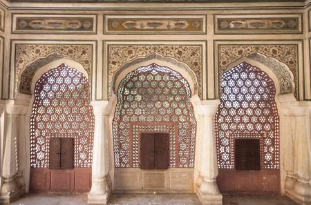 interior of the Hawa Mahal, Jaipur - Rajasthan, India