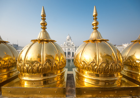 amritsar: Harimandir Sahib at the Golden temple complex, Amritsar - India Editorial