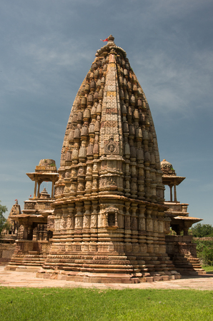 shree: Ancient Jain temple of Bijolia, Rajasthan - India Stock Photo