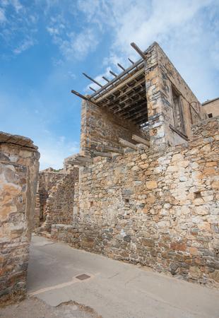 lepra: Colonia de leprosos abandonados, Spinalonga fortaleza, Creta Grecia