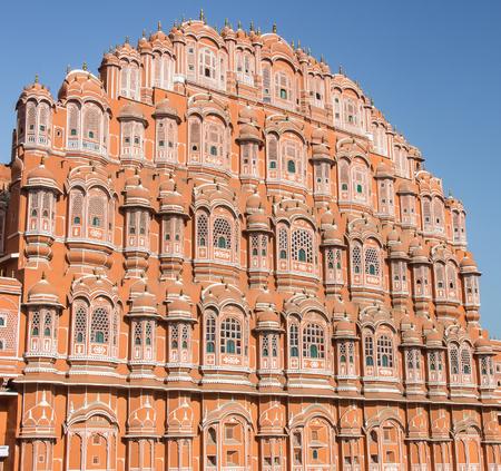 jagmandir: Hawa Mahal facade - Jaipur, Rajasthan - India