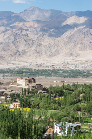 Stok palace near the town of Leh - Ladakh, India