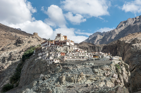 ladakh: ancient Diskit monastery in Ladakh, northern India