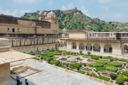 amber fort: view of Amber fort, Rajasthan - India Editorial
