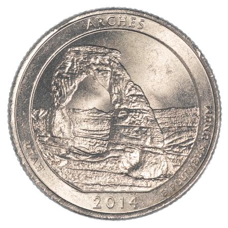 25 cents: The Arches National Park Quarternd