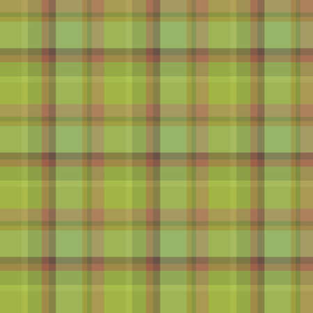 Seamless pattern in green moss and forest colors for plaid, fabric, textile, clothes, tablecloth and other things. Vector image.