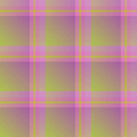 Seamless pattern in magnificent dark yellow and violet colors for plaid, fabric, textile, clothes, tablecloth and other things. Vector image. Stock Illustratie