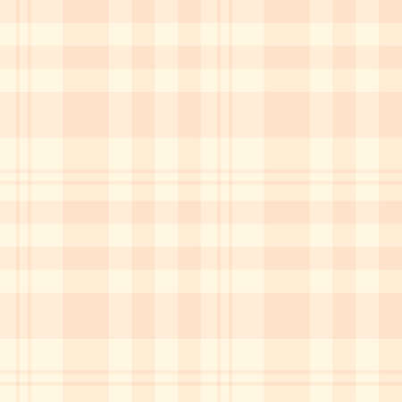 Seamless pattern in fascinating pastel light beige colors for plaid, fabric, textile, clothes, tablecloth and other things. Vector image.
