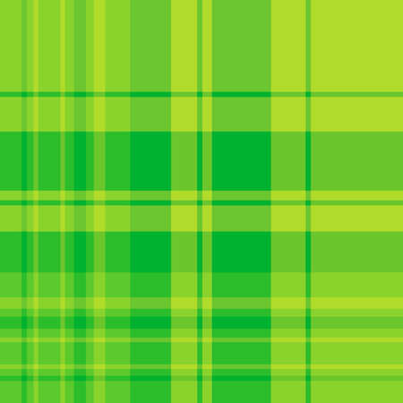 Seamless pattern in fascinating cute bright green colors for plaid, fabric, textile, clothes, tablecloth and other things. Vector image. Ilustração