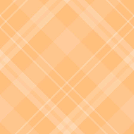 Seamless pattern in fascinating light orange colors for plaid, fabric, textile, clothes, tablecloth and other things. Vector image.