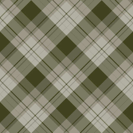 Seamless pattern in fascinating discreet green-gray colors for plaid, fabric, textile, clothes, tablecloth and other things. Vector image. 2