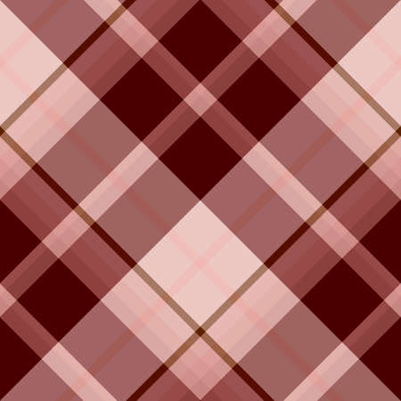 Seamless pattern in discreet light pink and vinous colors for plaid, fabric, textile, clothes, tablecloth and other things. Vector image. 2