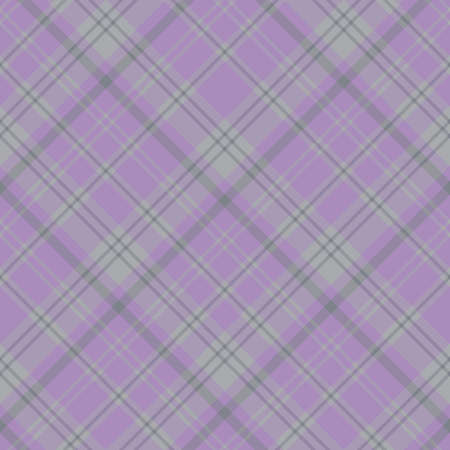 Seamless pattern in interesting cozy violet and gray colors for plaid, fabric, textile, clothes, tablecloth and other things. Vector image. Illusztráció
