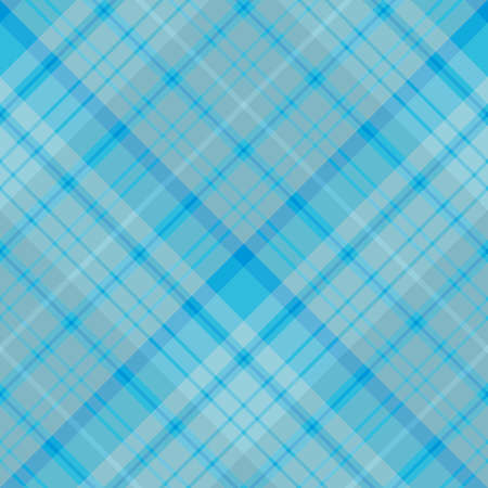 Seamless pattern in interesting creative blue colors for plaid, fabric, textile, clothes, tablecloth and other things. Vector image. Illusztráció