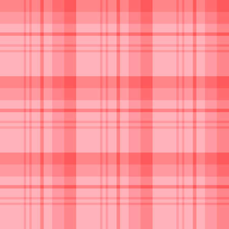 Seamless pattern in wonderful warm pink colors for plaid, fabric, textile, clothes, tablecloth and other things. Vector image.