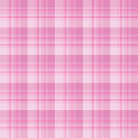 Seamless pattern in wonderful beautiful pink colors for plaid, fabric, textile, clothes, tablecloth and other things. Vector image.