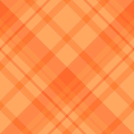 Seamless pattern in magnificent orange colors for plaid, fabric, textile, clothes, tablecloth and other things. Vector image. 2 矢量图像