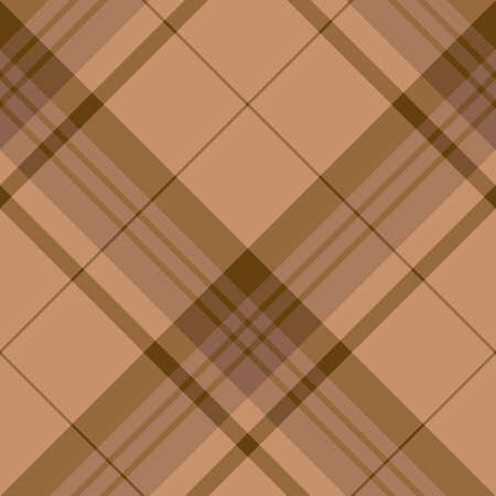 Seamless pattern in magnificent discreet brown colors for plaid, fabric, textile, clothes, tablecloth and other things. Vector image.