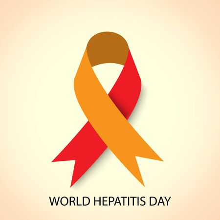 Vector illustration of a Background for World Hepatitis Day.