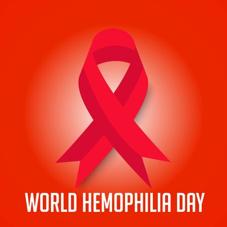 Vector illustration of a Background for World Hemophilia Day. Illustration