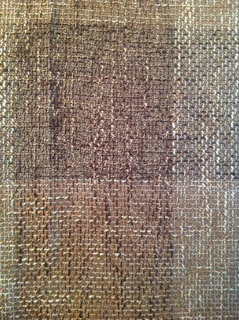 weave: Checked brown woven fabric background