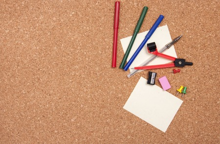 stationary set: Stationary set and note on a cork board