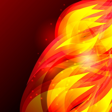 Flame background