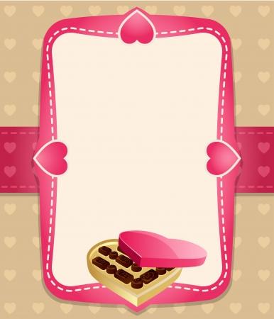 Caramelos de fondo invitaci�n Vectores