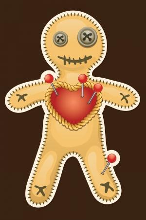 Voodoo doll  Terrible black magic voodoo doll