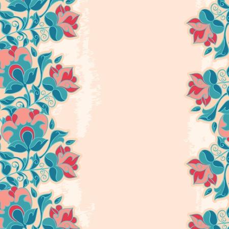 Romantic Flower Grunge Background Stock Vector - 16290151