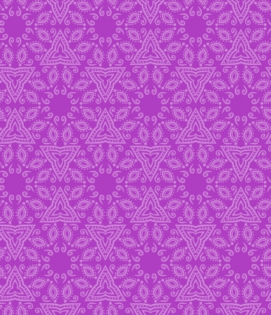Seamless indian pattern in pink colore Stock Vector - 16580111