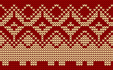 isle: Christmas red knitted background
