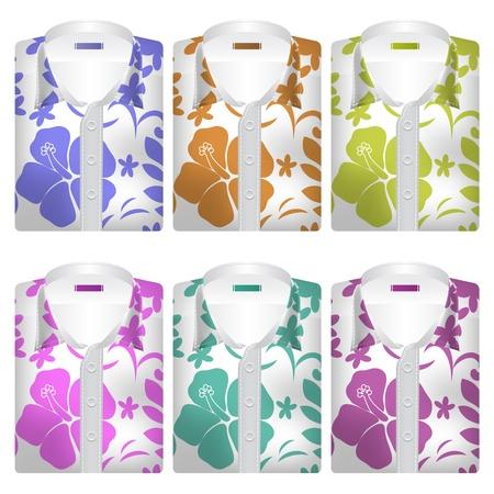 oahu: Hawaiian Aloha Shirts Icons