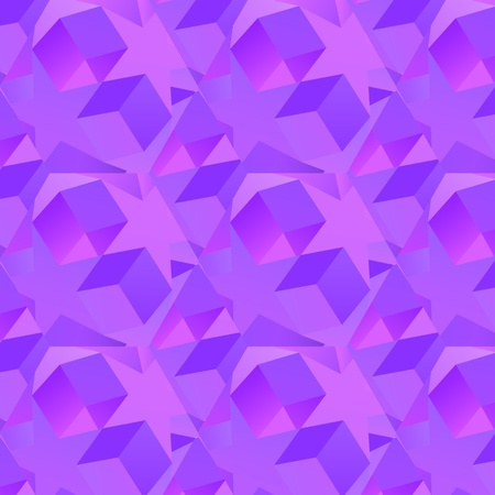 Abstract violet star pattern background Stock Vector - 18009059
