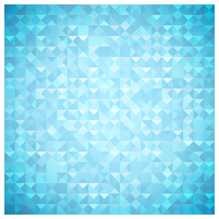 Blue mosaic background Stock Vector - 18159596