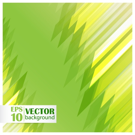 Straight green lines abstract background Stock Vector - 18198647