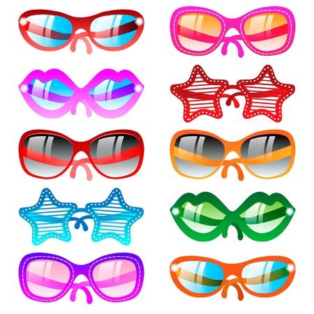 glamur: Sunglasses icon set