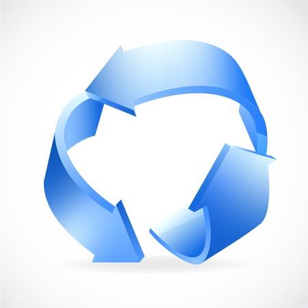 Reciclar  Foto de archivo