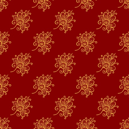 Seamless background pattern. Will tile endlessly. Vector