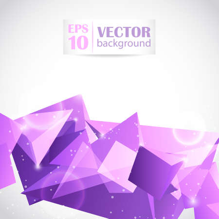 Abstract geometric background Stock Vector - 21824698