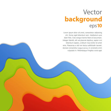 vector dimension 3d graphic message board for text and message design frame line shadow for modern web design